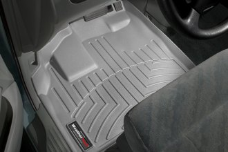 WeatherTech® 463561 - DigitalFit™ Molded Floor Liners (1st Row, Gray)