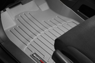 WeatherTech® 464021 - DigitalFit™ Molded Floor Liners (1st Row, Gray)