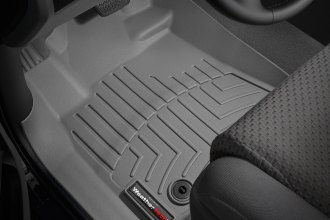 WeatherTech® 464081 - DigitalFit™ Molded Floor Liners (1st Row, Gray)