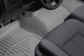 WeatherTech® 464091 - DigitalFit™ Molded Floor Liner (1st Row - Over The Hump, Gray)