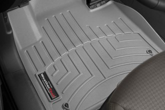 WeatherTech® 464401 - DigitalFit™ Molded Floor Liners (1st Row, Gray)