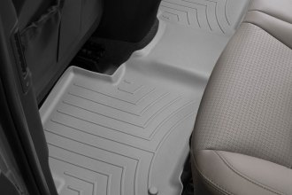 WeatherTech® 464402 - DigitalFit™ Molded Floor Liners (2nd Row, Gray)