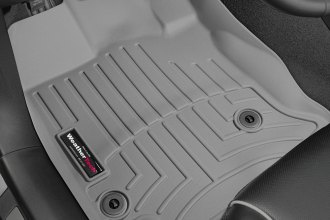 WeatherTech® 464721 - DigitalFit™ Molded Floor Liners (1st Row, Gray)