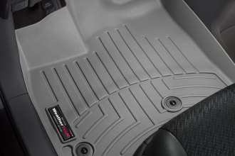 WeatherTech® 464751 - DigitalFit™ Molded Floor Liners (1st Row, Gray)