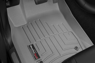 WeatherTech® 464851 - DigitalFit™ Molded Floor Liners (1st Row, Gray)