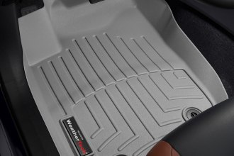 WeatherTech® 465101 - DigitalFit™ Molded Floor Liners (1st Row, Gray)