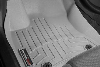 WeatherTech® 465801 - DigitalFit™ Molded Floor Liners (1st Row, Gray)