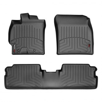 WeatherTech® - DigitalFit™ 1st & 2nd Row Black Floor Liners Set