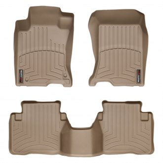 WeatherTech® - DigitalFit™ 1st & 2nd Row Tan Floor Liners Set