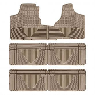 WeatherTech W16TNW25TNW25TN - All-Weather 1st, 2nd & 3rd Row Tan Floor Liners Set