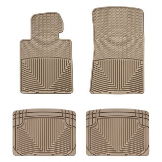 WeatherTech® - All-Weather 1st & 2nd Row Tan Floor Liners Set