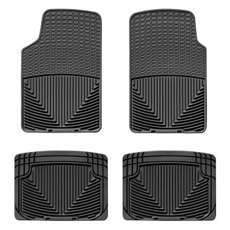 WeatherTech® - 1st & 2nd Row Black Floor Liners Set