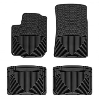 WeatherTech® - All-Weather 1st & 2nd Row Black Floor Mats
