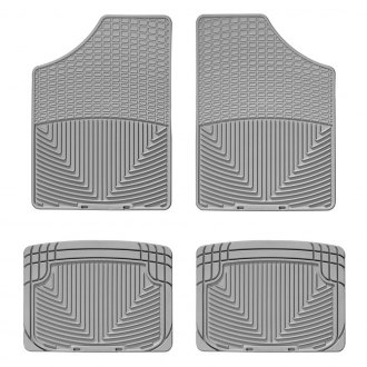WeatherTech W4GR-W20GR - All-Weather 1st & 2nd Row Gray Floor Liners Set