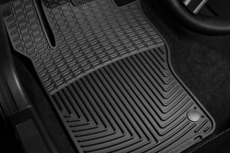 WeatherTech® W102 - All-Weather Floor Mats (1st Row, Black)