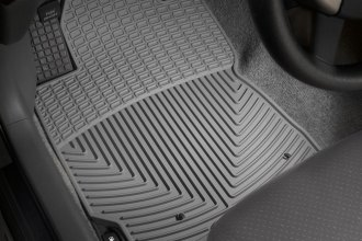 WeatherTech® W108GR - All-Weather Floor Mats (1st Row, Gray)