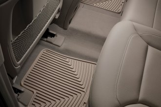 WeatherTech® W110TN - All-Weather Floor Mats (2nd Row, Tan)