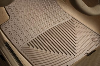 WeatherTech® W114TN - All-Weather Floor Mats (1st Row, Tan)