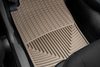 WeatherTech® W11TN - All-Weather Floor Mats (1st Row, Tan)