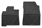 WeatherTech® - All-Weather Floor Mats - 1st Row, Black