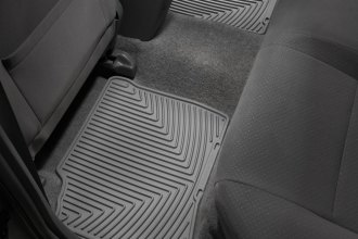 WeatherTech® W130GR - All-Weather Floor Mats (2nd Row, Gray)