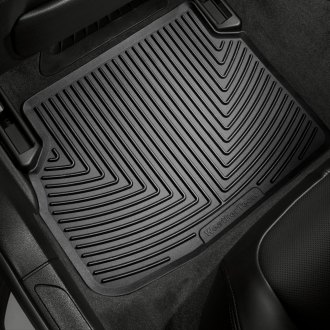 WeatherTech W133 - All-Weather Floor Mats (2nd Row, Black)