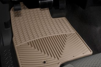 WeatherTech® W137TN - All-Weather Floor Mats (1st Row, Tan)
