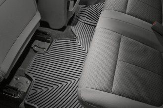 WeatherTech® W139 - All-Weather Floor Mats (2nd Row, Black)