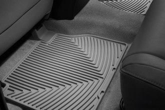 WeatherTech® W140GR - All-Weather Floor Mats (2nd Row, Gray)