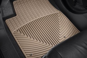 WeatherTech® W148TN - All-Weather Floor Mats (1st Row, Tan)