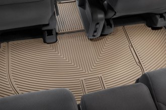 WeatherTech® W159TN - All-Weather Floor Mats (2nd Row, Tan)