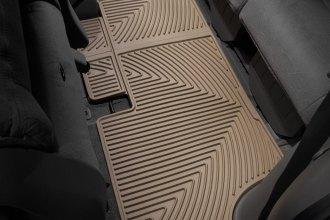 WeatherTech® W160TN - All-Weather Floor Mats (3rd Row, Tan)