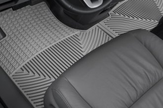 WeatherTech® W161GR - All-Weather Floor Mats (1st Row, Gray)