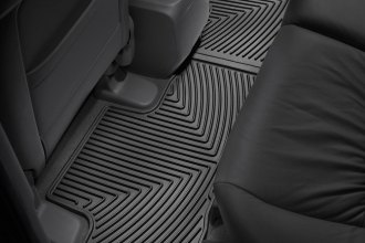 WeatherTech® W162 - All-Weather Floor Mats (2nd Row, Black)