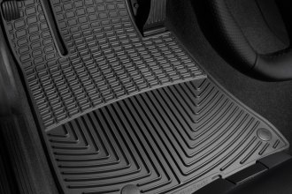 WeatherTech® W163 - All-Weather Floor Mats (1st Row, Black)