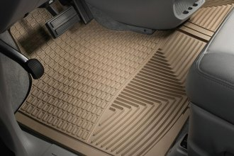 WeatherTech® W16TN - All-Weather Floor Mats (1st Row, Tan)