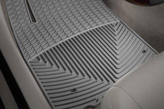 WeatherTech® W174GR - All-Weather Floor Mats (1st Row, Gray)