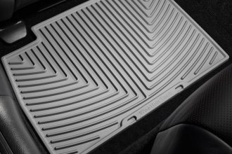 WeatherTech® W185GR - All-Weather Floor Mats (2nd Row, Gray)