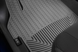WeatherTech® W189GR - All-Weather Floor Mats (1st Row, Gray)