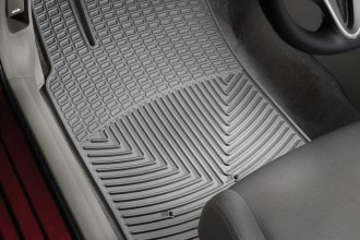 WeatherTech® W199GR - All-Weather Floor Mats (1st Row, Gray)