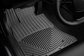 WeatherTech® W204 - All-Weather Floor Mats (1st Row, Black)