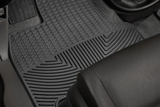 WeatherTech® W211 - All-Weather Floor Mats (1st Row, Black)