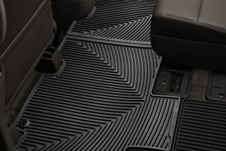 WeatherTech® W212 - All-Weather Floor Mats (2nd Row, Black)
