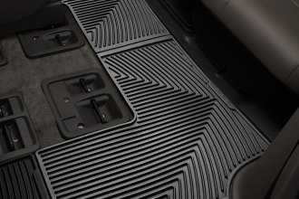 WeatherTech® W213 - All-Weather Floor Mats (3rd Row, Black)