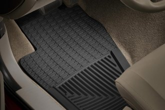 WeatherTech® W22 - All-Weather Floor Mats (1st Row, Black)