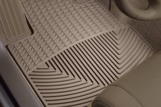 WeatherTech® W220TN - All-Weather Floor Mats (1st Row, Tan)