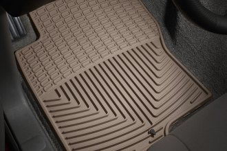WeatherTech® W222TN - All-Weather Floor Mats (1st Row, Tan)