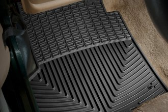 WeatherTech® W224 - All-Weather Floor Mats (1st Row, Black)