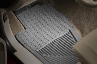 WeatherTech® W22GR - All-Weather Floor Mats (1st Row, Gray)