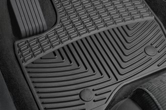 WeatherTech® W230 - All-Weather Floor Mats (1st Row, Black)